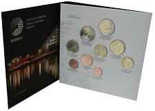 Lettonia EURO-MONETE corso SET - 2015 - 5,88 euro - 9 monete stgl. in cofanetto