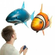 1pc Remote Control Fish RC Plastic Inflatable Blimp Animal Balloon Toys