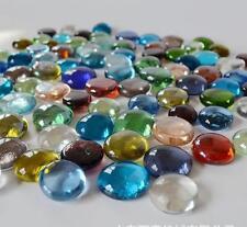200 Pcs Mixed Color Large Glass Gems, Pebbles, Mosaic Tiles, Nuggets