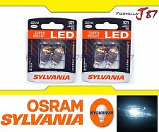 Sylvania ZEVO Led White 6000K T15 T16 921 Four Bulbs Bright Quality Fit Replace