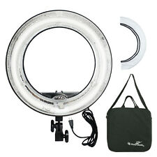 Fluorescent 5500K Dimmable Ring Light w/ Bag Camera Photo Video Studio