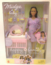 Poupée Barbie enceinte Midge, African American mattel 2002 collection 1ère édition