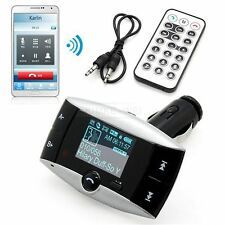 Bluetooth KFZ Auto MP3 Musik USB SD AUX Player FM Transmitter Freisprechanlage