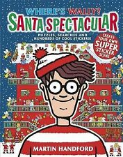 Where's Wally? Santa Spectacular, Handford, Martin, New Book