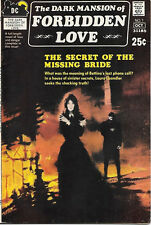 The Dark Mansion of Forbidden Love Comic Book #1, DC Comics 1971 VERY FINE-