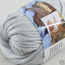 Sale New 1 Skein x 50g Soft 100% Cotton Chunky Super Bulky Hand Knitting Yarn 34