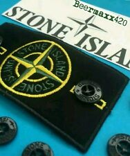 NEW AUTHENTIC REPLACEMENT STONE ISLAND ORIGINAL JACKET BADGE/BUTTON SET @SALE@
