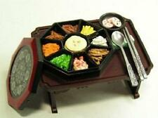 Re-ment miniature #30 Korean imperial dish kujourpan table