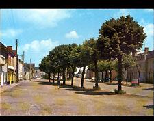 BAUGY (18) AUTOBUS , CITROEN 2CV & RENAULT 4L aux COMMERCES , Rue de SULLY