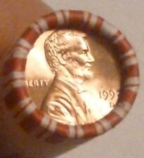 1992D Lincoln Memorial Cent Uncirculated Original Penny Sealed Rolls