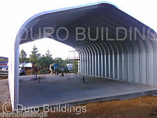 DuroSPAN Steel 30x20x14 Metal Building Pitched Roof Carport Kit Open Ends DiRECT