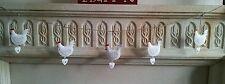 NEW VINTAGE CHIC HEN & HEART HANGING GARLAND BUNTING CHICKEN EASTER
