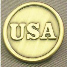 CIVIL WAR  U.S.A. Button Lapel Pin Uniform Button  Brass 13003