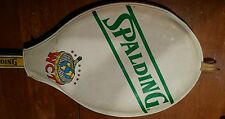RARE 1968 SPALDING WCT WOOD TENNIS RACKET with Original Cover