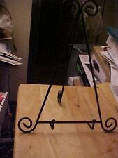14 1/2  INCH TALL BLACK A FRAME SCROLL EASEL DISPLAY STAND