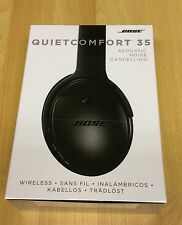 NEW SEALED BOSE 35 BLACK NOISE CANCELLING HEADPHONES MINT NEW QUIET COMFORT