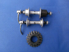 Vintage Shimano 600 Arabesque hubs and (5 speed) cassette 6200