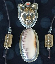 Fabulous Tabra OOAK Adjustable Jaguar Necklace
