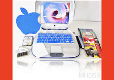 "Apple iBook Clamshell 366 MHz ""TRANSLUCENT"" + 60GB HD OS9 TESTED + Gifts"