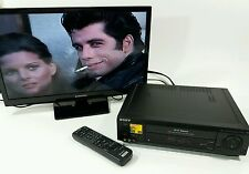 Sony VCR with Remote Hi-Fi Stereo VHS Cassette Recorder SLV-685HF Works Perfect!