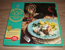"Seafood Ragout in Puff Pastry Shells 550 Piece Jigsaw Puzzle 16x20"" SEALED New"