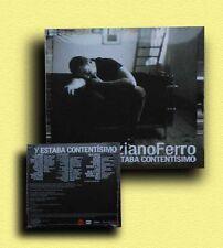 TIZIANO FERRO CD single PROMO 1 traccia - Y ESTABA CONTENTISIMO - sigillato EU