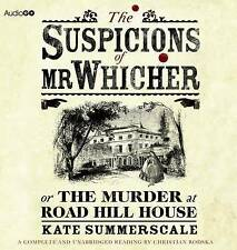 The Suspicions of Mr Whicher (BBC Audiobooks), Summerscale, Kate, Excellent, Aud