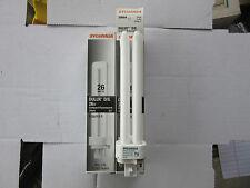 (2) Sylvania 20684 Delux D/R 26W Compact Fluorescent CF26DD/E/827/ECO NEW!!!