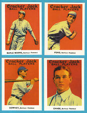 1915 Cracker Jack Reprint Team Sets: Buffalo Federals (Chase)