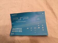 SONY PSP PLAYSTATION PORTABLE QUICK REFERENCE GUIDE PSP-2001