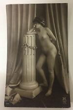ORIGINAL FRENCH EROTIC RPPC NUDE SEXY POST CARD #3