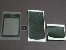 nokia 8800 arte black sapphir front screen glass+camera glass+front-back leather