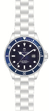 DIVER'S AUTOMATIC WATCH 30 BAR WD SOLID IN AZURE BLUE NEW SERIES XXL LARGE 45MM