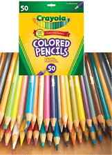 Colored Pencil Set CRAYOLA 50pc PreSharpened