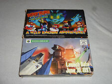 NINTENDO 64 PROMO VHS PROMOTIONAL TAPE CASSETTE LOT DIDDY KONG RACING STARFOX