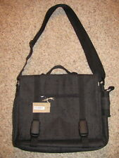 Vulcana Recycled Tires Brief Case/Messenger/Shoulder Bag/Attache/Laptop - NWT