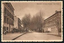 Avellino : R.  Scuola Normale e Viale Platani - Viaggiata nel 1922