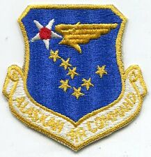 Vintage US Air Force Alaska Air Command COLOR Patch