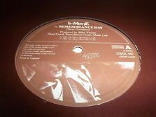 """B-MOVIE-REMEMBRANCE DAY/INSTITUTION WALLS-SOME BIZZARE DMX 437 UK VG+/VG 12"""""""