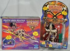Skeleton Warriors Legion Skullcycle & Baron Dark figure Playmates 1994 VHTF NEW