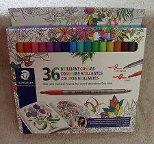Staedtler Duo color Markers 320C36JBLU 36 pc.