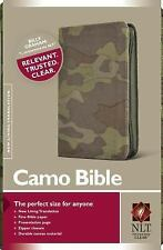 Camo Bible NLT (2008, Book, Other)