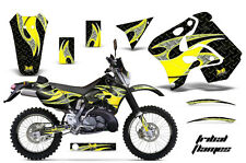 AMR Racing Suzuki RMX 250S Number Plate Graphics Kit Bike Decals 96-98 TRIBAL Y