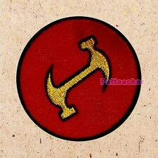 Stonecutters Replica Logo Patch The Simpsons Homer Burns Lenny Moe Embroidered
