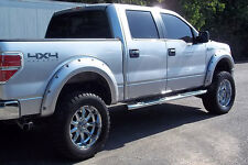 04-08 FORD F150 4PC SMOOTH PAINTABLE POCKET RIVET STYLE FENDER FLARES