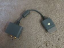 Genuine Original Microsoft XBox 360 Audio Adapter Cable - X808221-001  (9 T)
