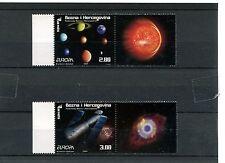 Bosnia Erzegovina Indip 2009 serie astronomia con appendice MNH