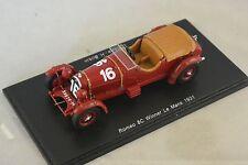 Spark 43LM31 - ALFA ROMEO 8C n°16 1er Le Mans 1931 L. Howe - H. Birkin 1/43