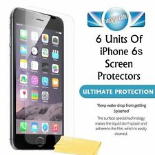 "6 NEW GENUINE SCREEN PROTECTORS PROTECT FOR APPLE IPHONE 6S (4.7"")"