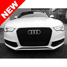 2013+ AUDI A5/S5 B8.5 RS5 STYLE EURO HONEYCOMB HEX MESH GRILLE - BLACK